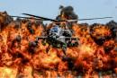 Trump gonfle les dépenses militaires, pas assez pour les faucons