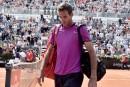 Juan Martin del Potropourrait rater Roland-Garros
