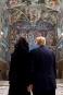 Le président américain Donald Trump et sa femme Melania admirent... | 24 mai 2017