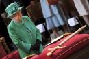 La reine ÉlisabethII participe à une cérémonie soulignant le 100e... | 24 mai 2017