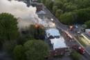 Un incendie s'est attaqué à la maison de transition du... | 24 mai 2017