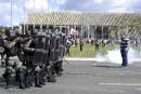 L'armée retirée de Brasilia par le président