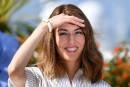 Cannes: Sofia mangeait de la pizza