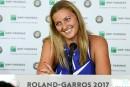 Kvitova de retour sur le court à Roland-Garros
