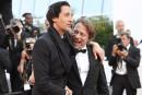 L'acteur américain Adrien Brody et le réalisateur françaisMathieu Amalric à... | 27 mai 2017