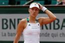 Roland-Garros: la no 1 Kerber éliminée, Kvitova avance au second tour