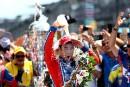 Takuma Sato remporte les 500miles d'Indianapolis