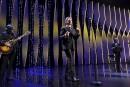 Le chanteur français Benjamin Biolay a offert une prestation durant... | 28 mai 2017
