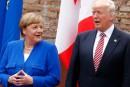 Trump et Merkel s'entendent «très bien», assure la Maison-Blanche