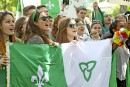 Des milliers de francophones étaient devant l'hôtel de ville d'Ottawa... | 31 mai 2017