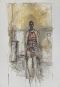 Alberto Giacometti, [Caroline assise en pied], vers 1964-1965. Huile sur...   1 juin 2017