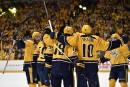 Victoire de 5-1 des Predators contre les Penguins