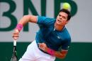 Milos Raonic éliminé à Roland-Garros