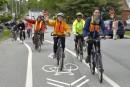 Pont Jacques-Cartier: les cyclistes applaudissent, mais avec réserves