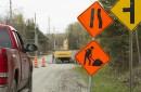 La pluie cause des retards aux chantiers routiers