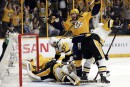Penguins 1 - Predators 4 (score final)