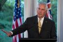 Trump veut reconstruire les liens avec Moscou, selon Tillerson