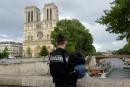 Attaque au marteau contre un policier devant Notre-Dame de Paris