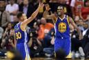 Kevin Durant et les Warriors à une victoire du titre