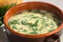 Stracciatella (soupe aux oeufs et aux épinards)