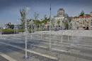 La place des Canotiers, face au Musée de la civilisation,... | 9 juin 2017
