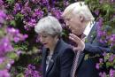 Donald Trump toujours invité au Royaume-Uni, selon le cabinet de Theresa May
