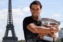 Classement ATP: Rafael Nadal remonte à la 2e place