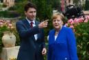 Trudeau nie avoir demandé à Merkel le silence sur l'Accord de Paris
