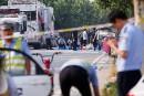 Une bombe artisanale à l'origine de l'explosion devant une maternelle en Chine