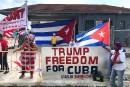 Des républicains contrariés par l'annulation de l'accord avec Cuba