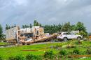 Des vents forts détruisent deux résidences au Québec