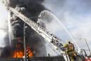 Incendie sur l'A40: l'entretien d'un camion de Bombardier en cause