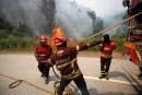 Le Portugal toujours aux prises avec les feux de forêt