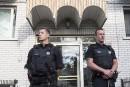 Policier poignardé par un Québécois au Michigan: perquisitions à Montréal