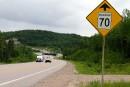 Route 155: «Il va yavoir des accidents»