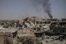 Irak: un kamikaze sème la mort parmi des civils fuyant le Vieux Mossoul