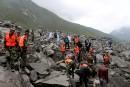 Éboulement en Chine: les espoirs de retrouver des disparus s'amenuisent