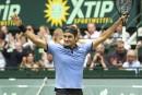 Et de 9 à Halle pour Roger Federer face à un Alexander Zverev dépassé