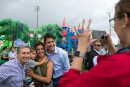 Le premier ministre du Canada, Justin Trudeau, lors de son... | 25 juin 2017