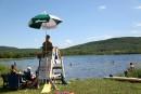 Fête du lac Bromont: nager en toute liberté
