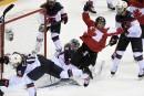 Un match Canada-États-Unis de hockey olympique féminin à Québec
