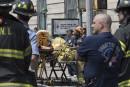 Déraillement dans le métro de New York : 30 blessés