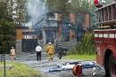 Après les coups de feu, quatre explosions et un incendie