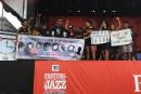 Le mouvementBlack Lives Matter monte sur une scène du Festival de jazz