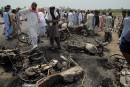 Pakistan: 205 morts dans l'incendie d'un camion-citerne