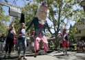 Un défilé à Sacramento en Californie... | 4 juillet 2017