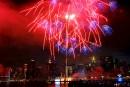 Des feux d'artifices au-dessus de New York... | 4 juillet 2017