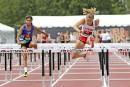 Alexia Lamothe au 100 mètres haies.... | 6 juillet 2017