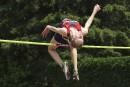Madelyn Eybergen au saut en hauteur.... | 6 juillet 2017