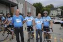 Tour CIBC Charles-Bruneau : le courage de Steven inspire les cyclistes